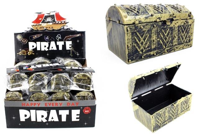 Piraten Schatzkiste ca 80x45x45mm