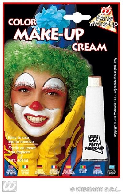 Make-up in Tube weiß 28ml auf Karte ca 19,5x13cm