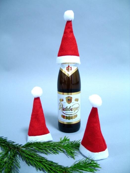 Mini-Nikolausmütze ca  16 x 5 cm