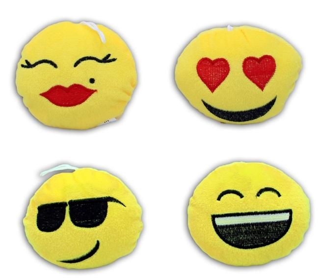 Smile Kissen mehrfach sortiert ca 11 cm