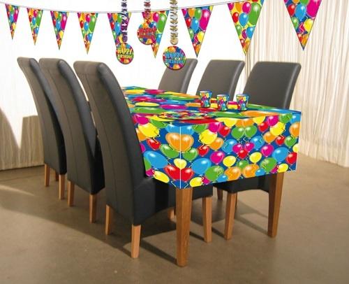 Tischdecke Ballons ca 130 x180 cm