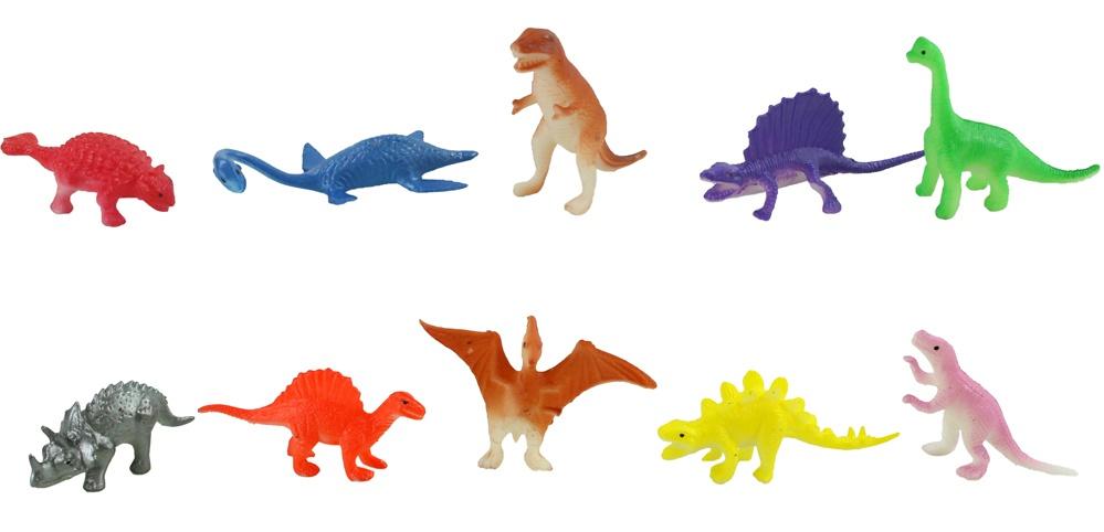 Dinosaurier 10-fach sortiert ca 4-5cm