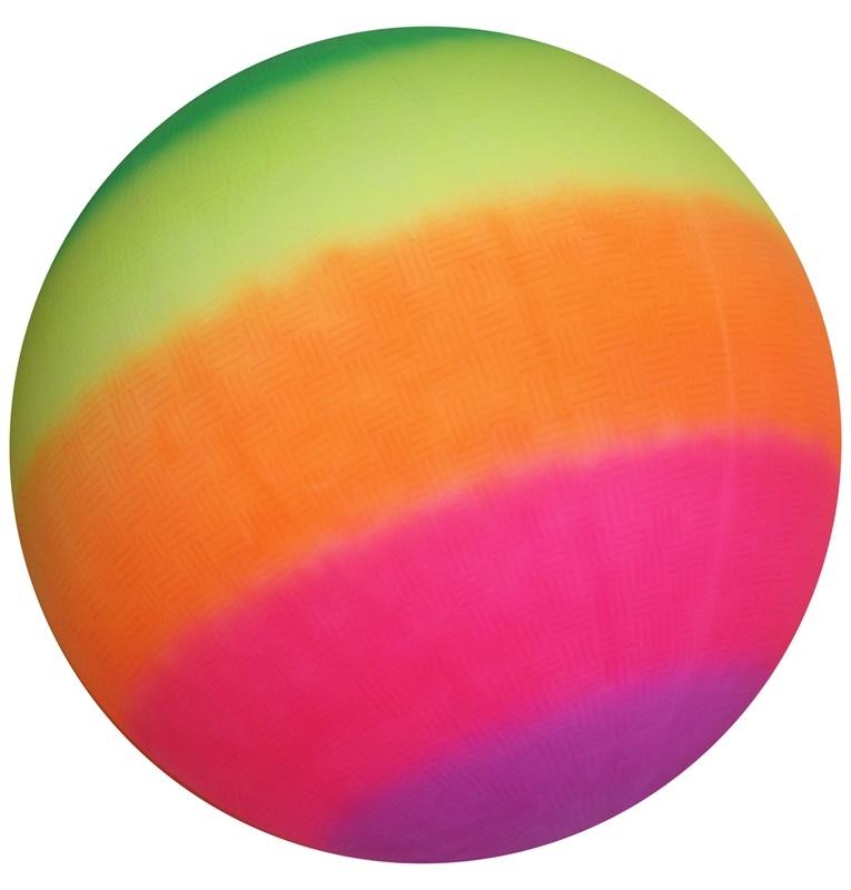 Ball Jumbo in Regenbogenfarben ca 45 cm