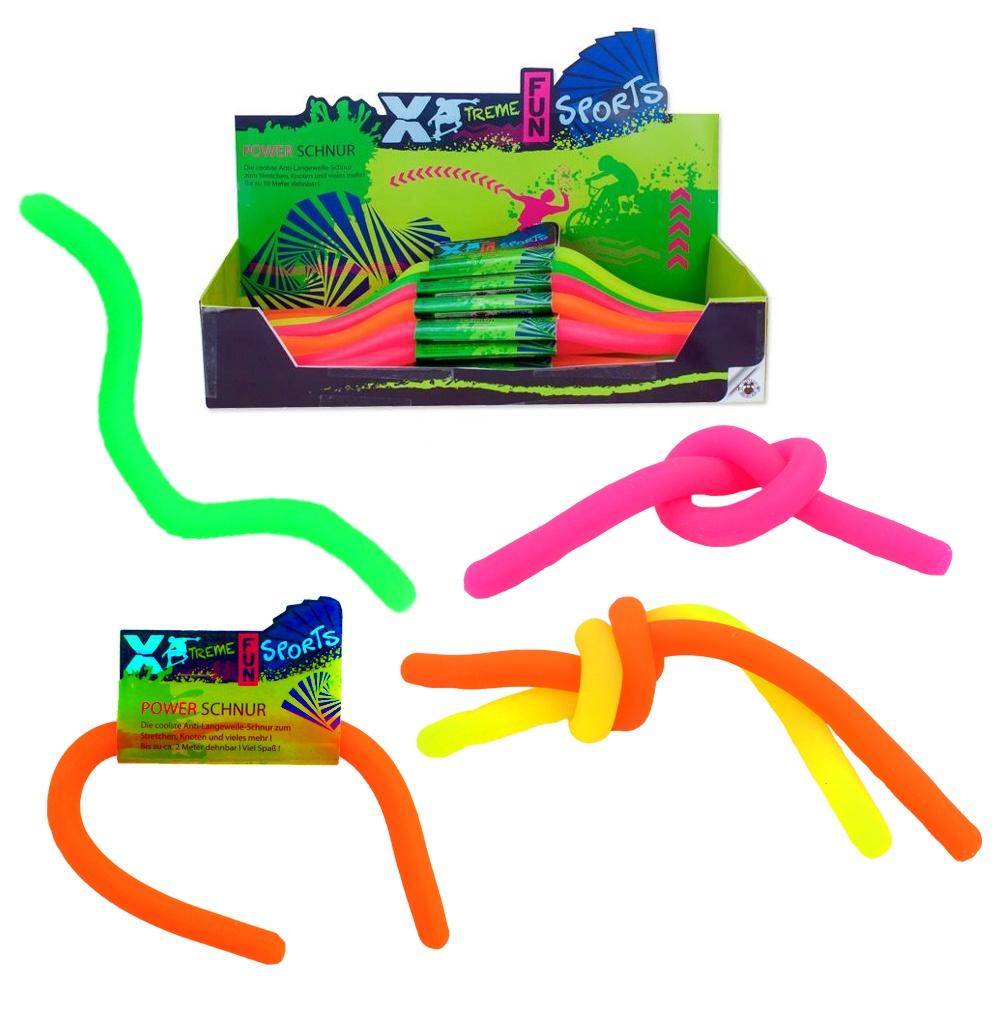 Power Schnur Fun Sports 4 Farben sortiert - ca 30 cm