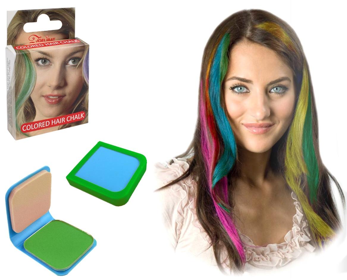 Haarkreide 6g grün