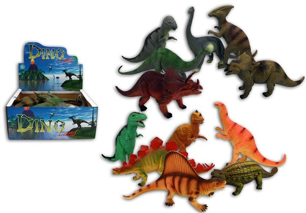 Dinosaurier mehrfach sortiert -ca 33-39cm