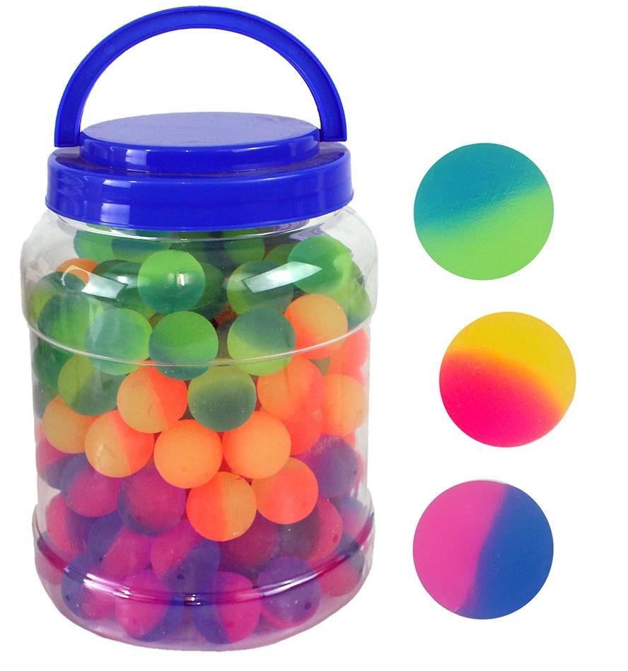 Flummi 3-farbig sortiert ca Ø 25 mm