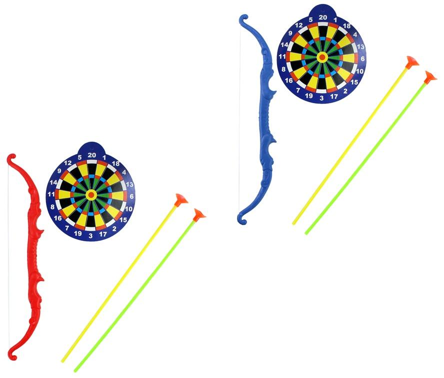 Pfeil- und Bogenset mehrfach sortiert - im Beutel ca 30x14cm