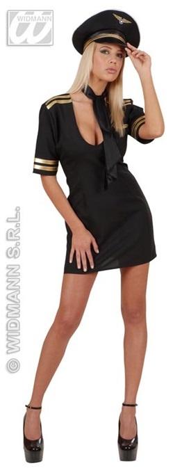 Kostüm Pilotin Größe S