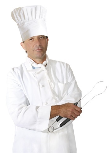 Hut - Kochmütze Top  Chef für Erwachsene