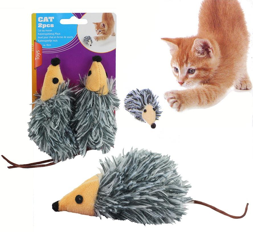 Katzenspielzug Maus 2 Stück auf Karte