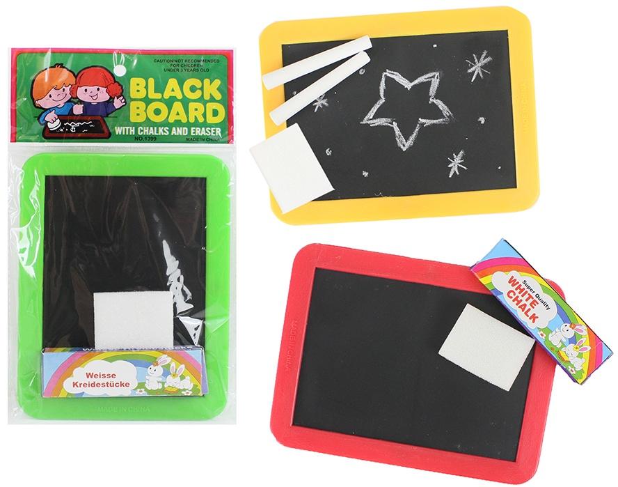 Schreibtafel 3 Farben sortiert - ca 17,5x13cm