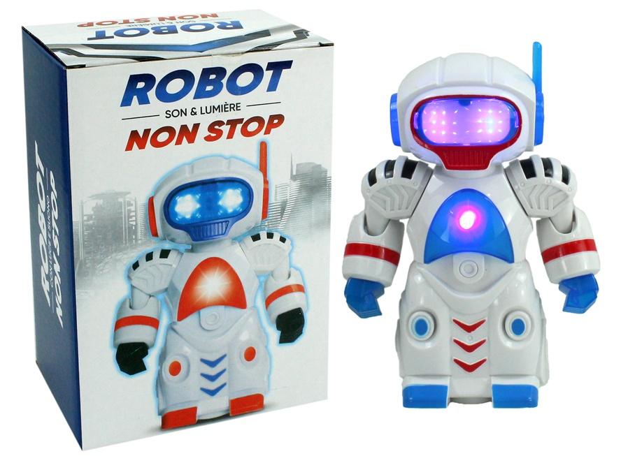 Roboter mit Licht,Ton und Bewegung - ca 19cm