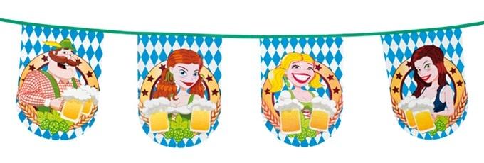 Wimpelkette Bierfest - 8m
