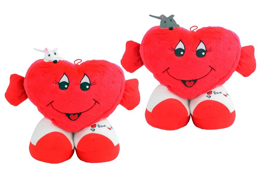 Herz mit Arme und Beine stehend ca 32 cm