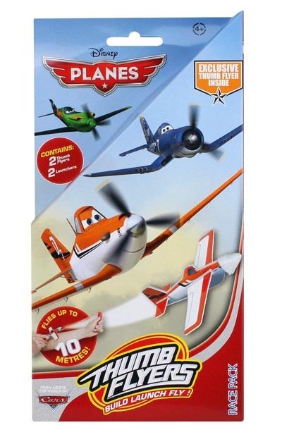 DISNEY Planes Daumenflieger 2 Stück Race Pack