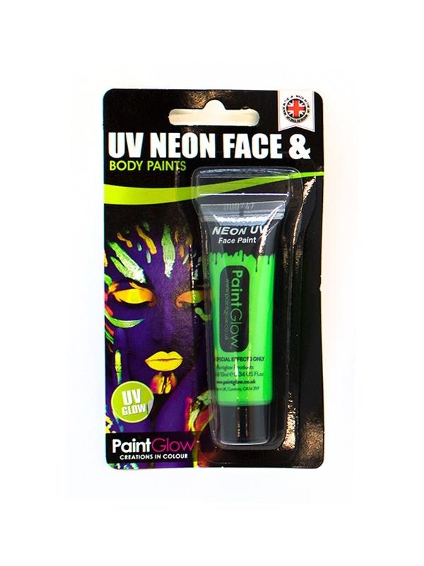 UV Gesicht & Körper Farbe grün ca 10 ml