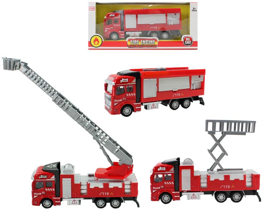 Feuerwehrfahrzeug METALL 3-fach sortiert
