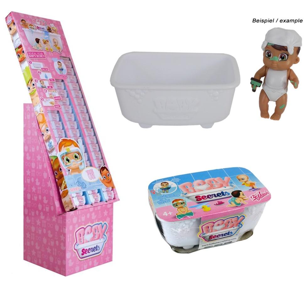 Zapf Sammelfiguren -Baby Secret- in Badewanne