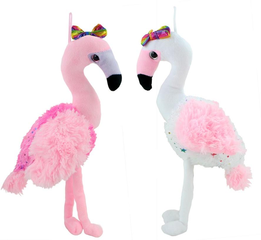 Flamingo Emma 2-fach sortiert ca 35 cm