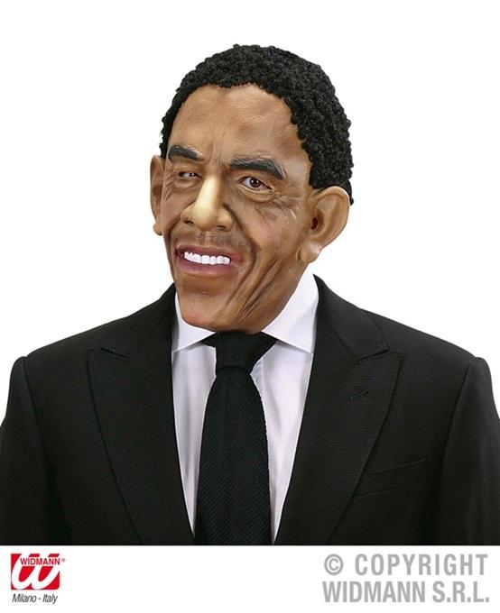Maske - Präsident mit Haaren