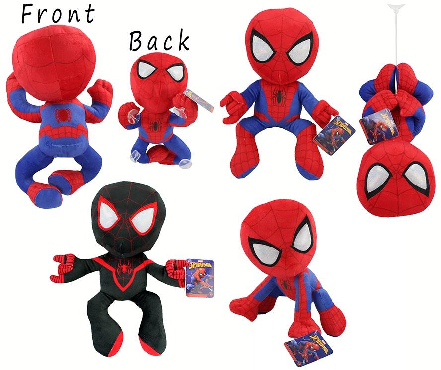 Spider Man Stoff Figur 5-fach sortiert ca 33 cm