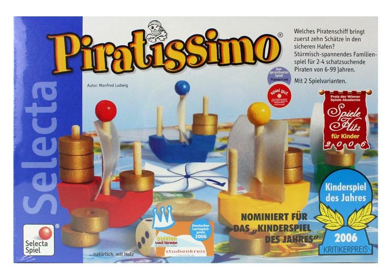 Selecta Piratissimo Spiel in Box ca 34x23x4,5cm