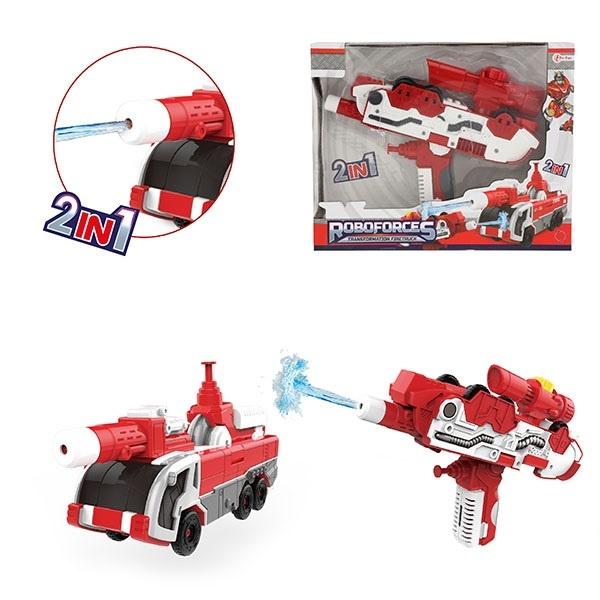 Wasserpistole umbaubar Feuerwehrauto - ca 20cm