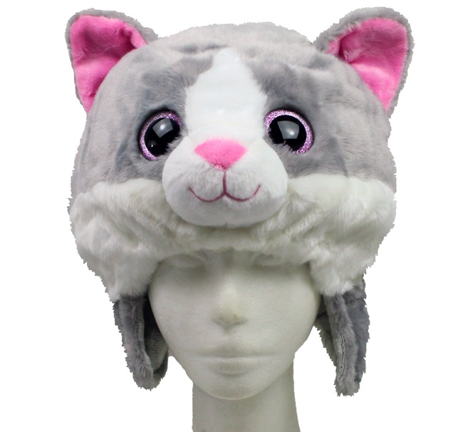 MioMio Plüsch-Mütze Katze