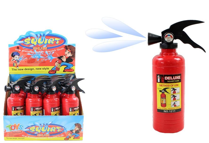Wasserspritze Feuerlöscher ca 18 x 5 cm