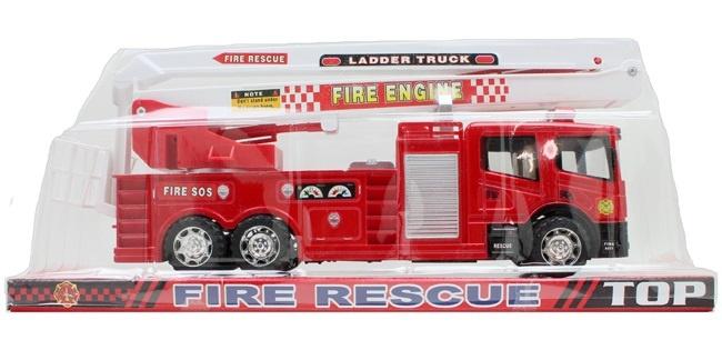 Feuerwehrauto Einsatzfahrzeug - im Blister ca 43x18x11cm