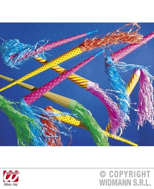 Papiertrompeten neonfarbig  ca 50 cm