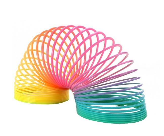 Regenbogenspirale ca 65 x 34 mm