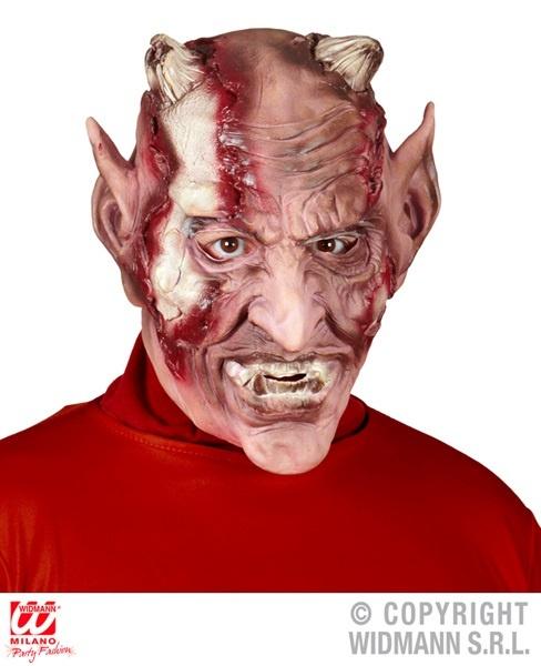 Maske -Teufel- verwest