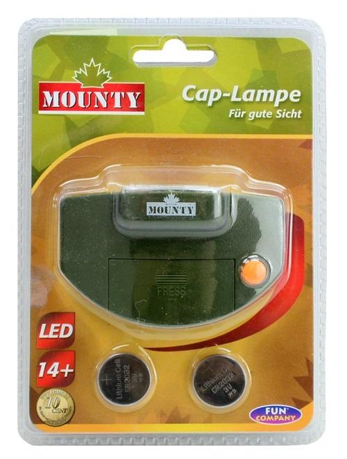 LED Cap Lampe im Blister ca 17x12cm