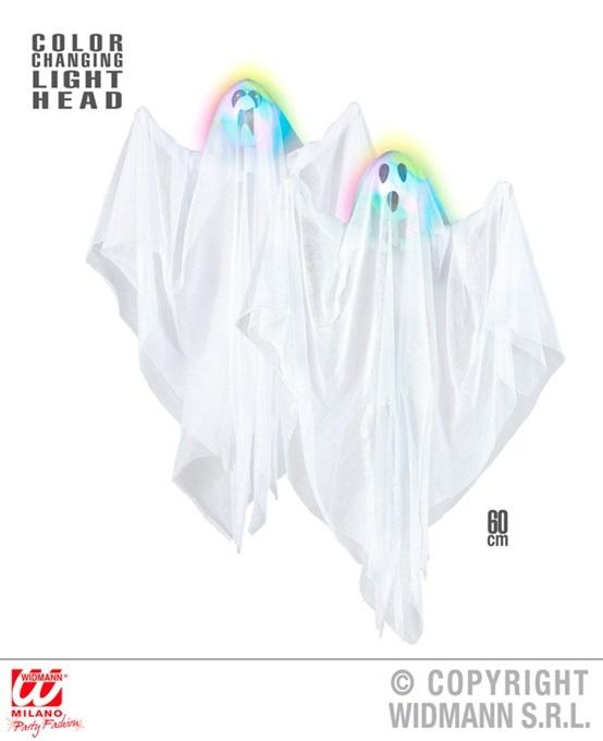 Geist 2-fach sortiert mit Lichtwechsel - ca 60cm