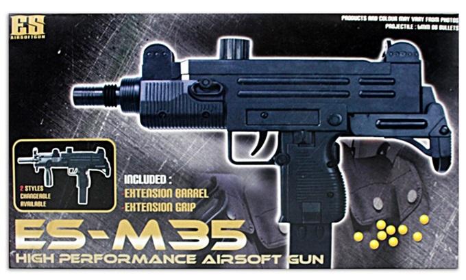 Maschinenpistole max 0,49 Joule M 35  ca 30cm