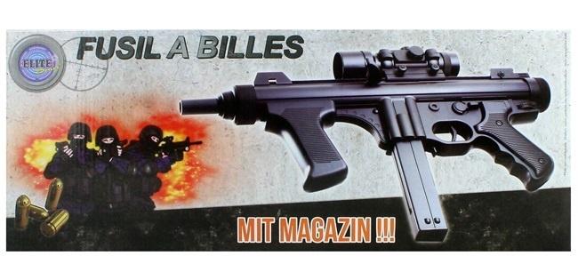 Kugelgewehr max 0,5 J - ca 41,5cm