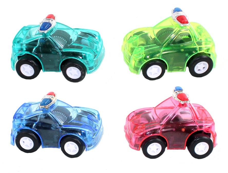 Polizeiauto farblich sortiert ca 4,5 cm
