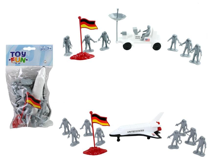 TTC Astronauten Spielset 2-fach sortiert