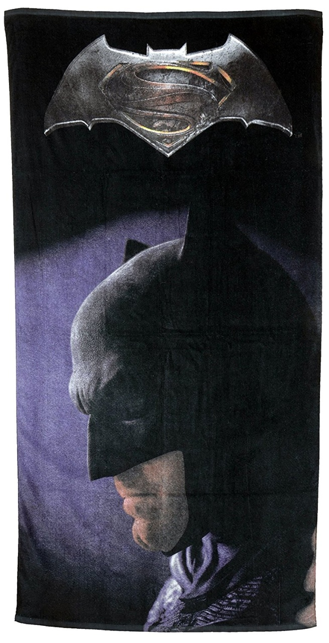 Batman Badehandtuch Strandtuch  - ca 150x75cm United Labels