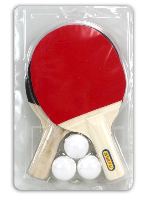 Tischtennisset im Doppelblister ca 29x18,5cm
