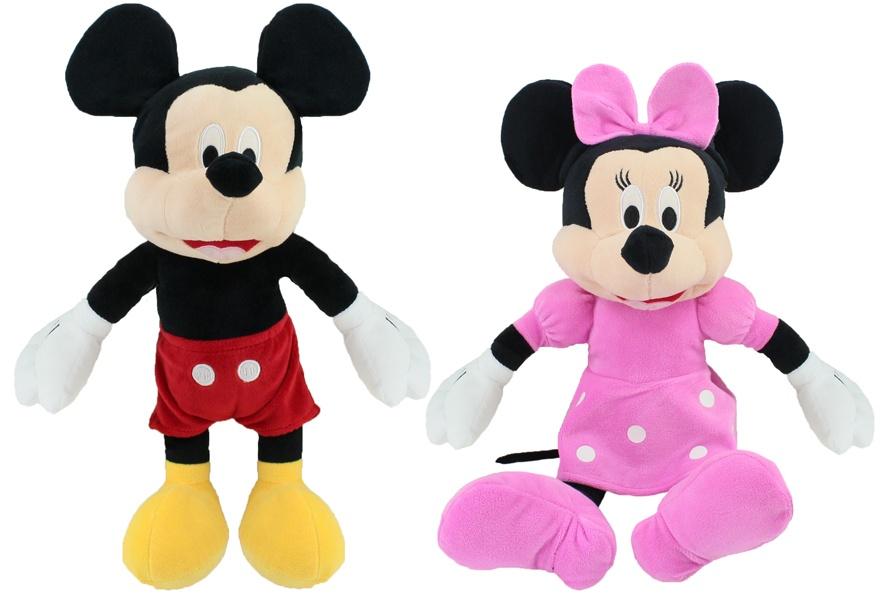 Disney Minnie und Micky sortiert ca 30/45cm