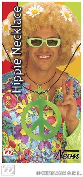 Kette - Hippie-Kette Peace sortiert - ca 9 cm