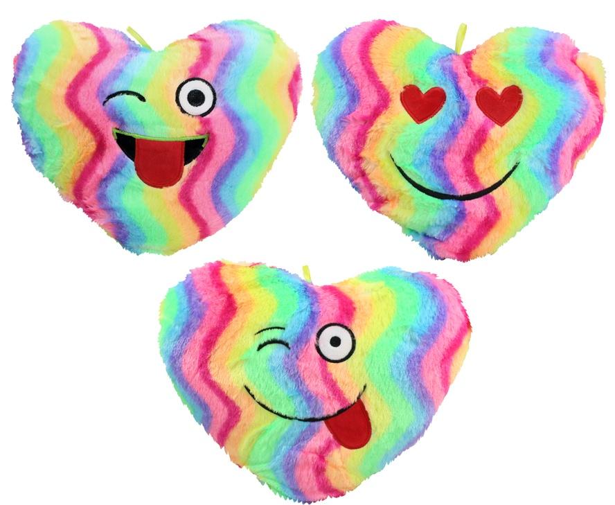 Herz regenbogenfarbig ca 35 cm