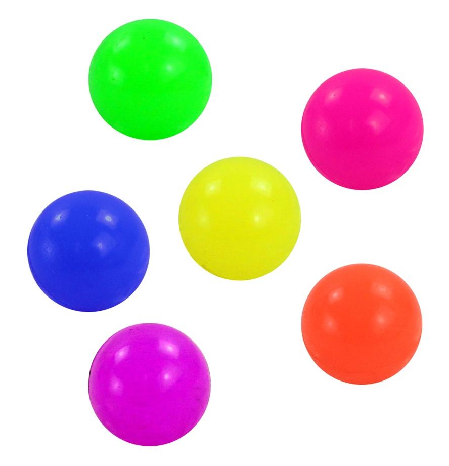 Flummi Dopsball Neonfarben ca 30 mm