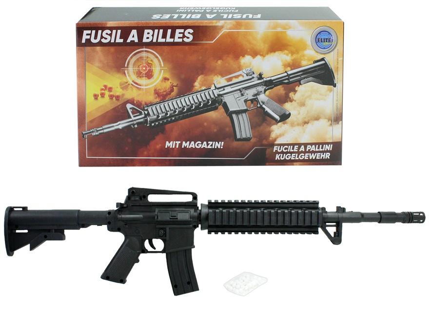 Kugelgewehr mit Magazin max 0,5 Joule - ca 60 cm