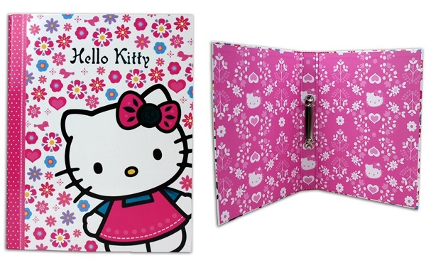 Ordner A4 - Hello Kitty Ringbuch - breit ca 4cm