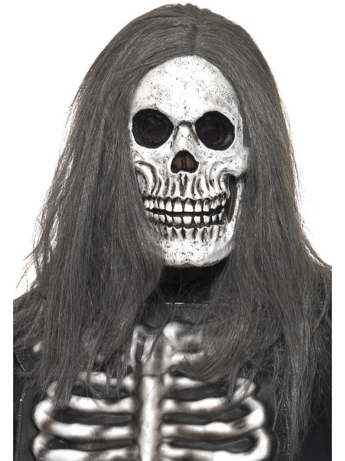 Maske Skelett Latex