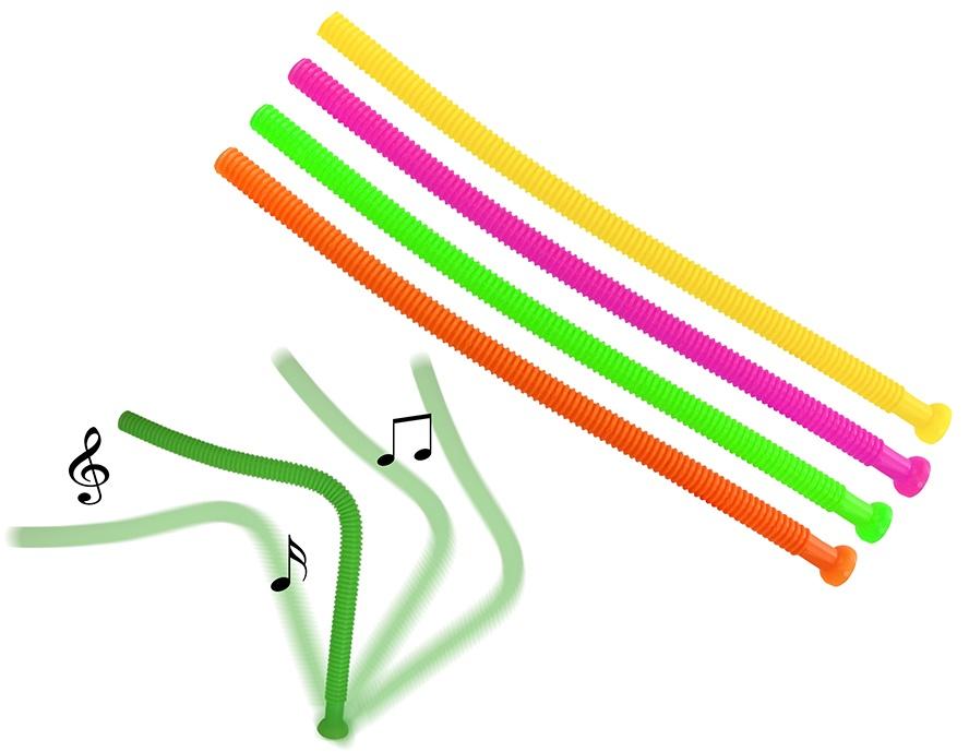 Klangrohr verschiedene Töne 4-farbig sortiert - ca 70cm